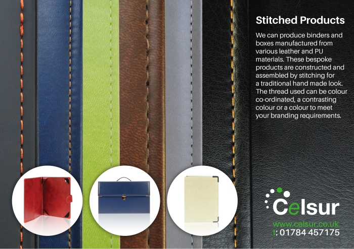 Stitched products